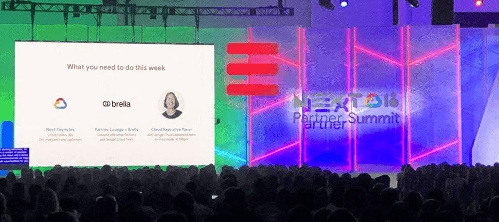 Google Next 2018 -tapahtuman kolmesta tärkeimmistä asioista yksi oli käyttää Brellaa