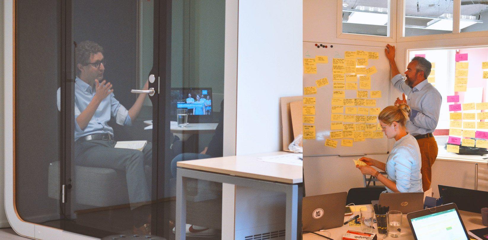 Unicef Design Sprint - perjantai - testaaminen