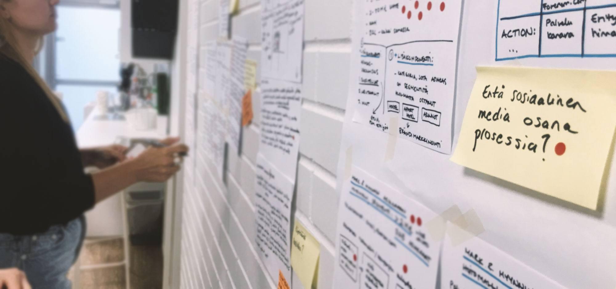 Design Sprint Forenom konseptien arviointi
