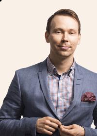 Janne Puustinen, toimitusjohtaja MEOM